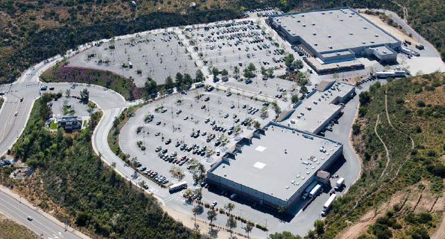 Retail Project: aerial view of East County Square, El Cajon, CA | citivestcommercial.com