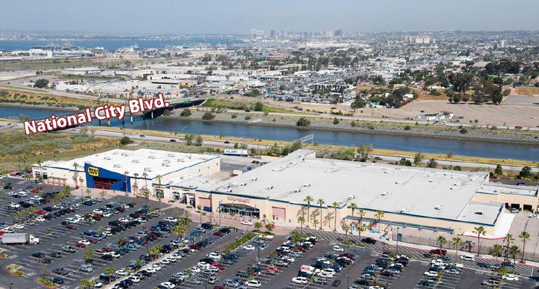 Retail Project: aerial view of Southbay Marketplace, Chula Vista, CA | citivestcommercial.com