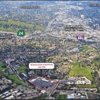 Retail Project: aerial view of Rossmoor Shopping Center, Walnut Creek, CA | citivestcommercial.com